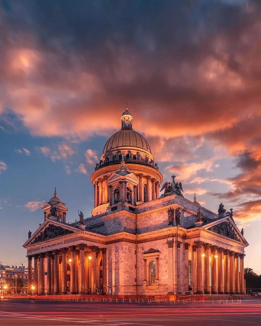 Исаакиевский собор. Архитектор Огюст Монферран