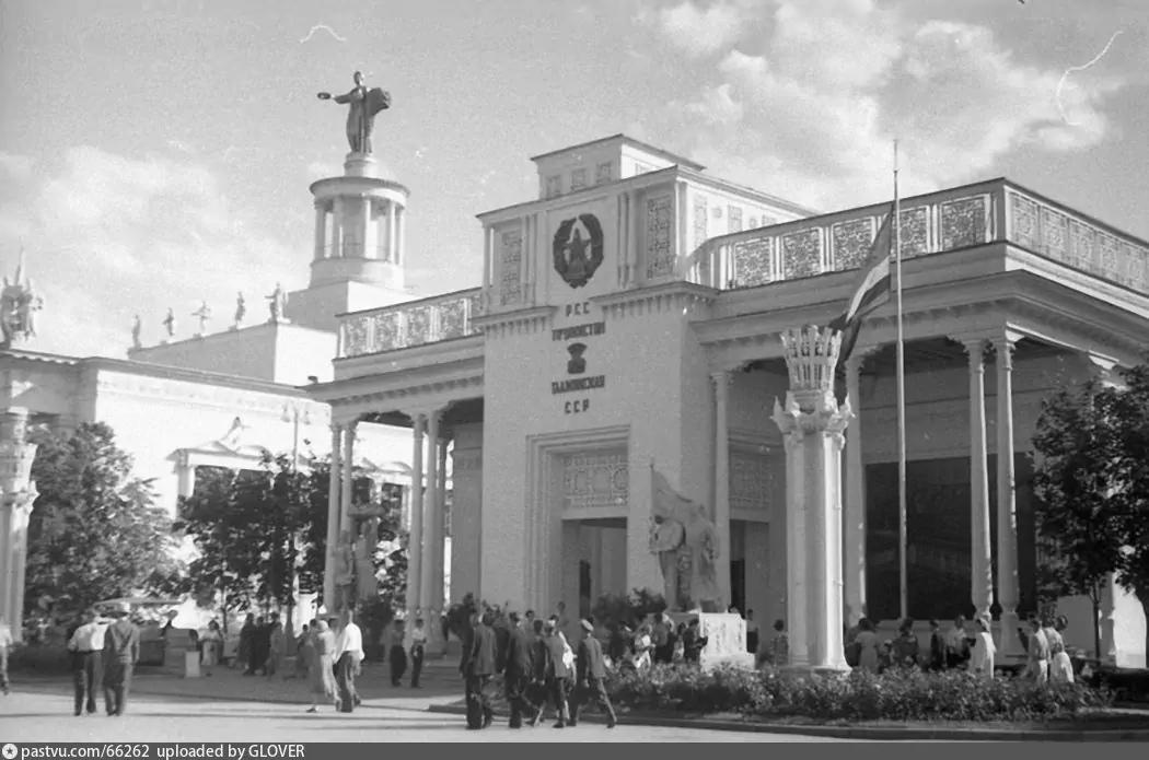Павильон Таджикистана  в годы работы