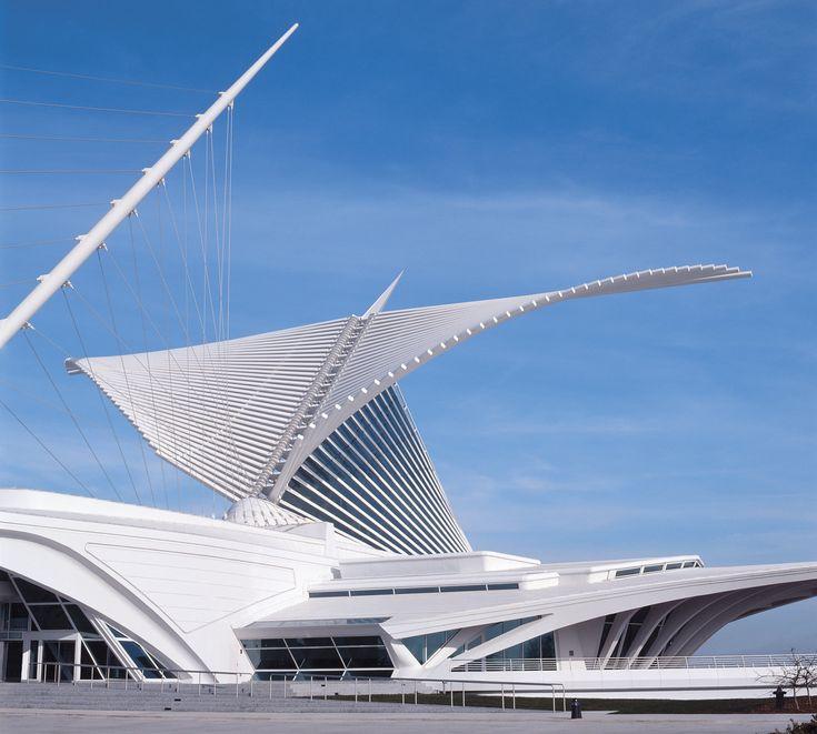 Художественный музей Милуоки. США. Архитектор Сантьяго Калатрава Вальс
