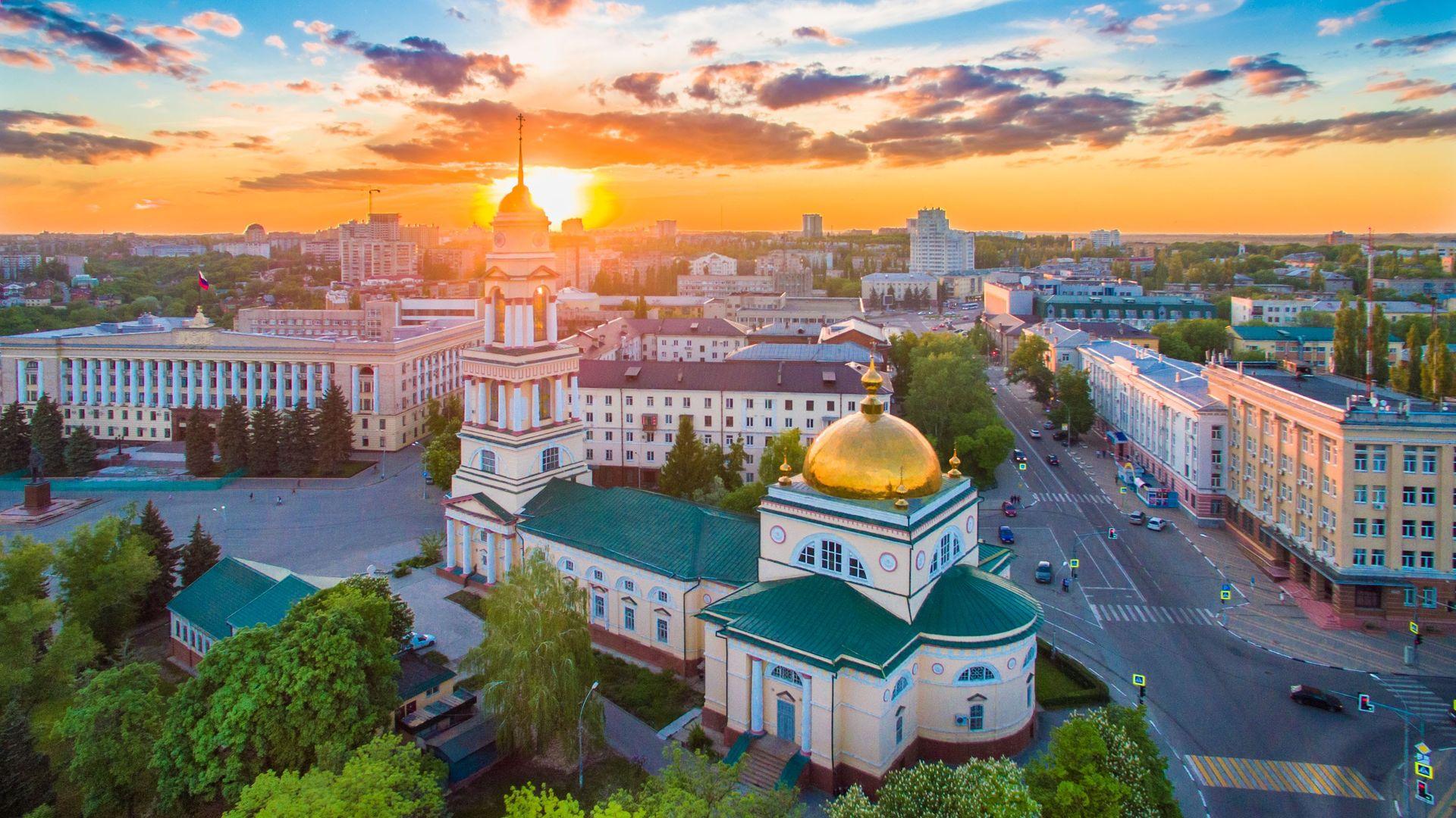 Соборная площадь Липецка