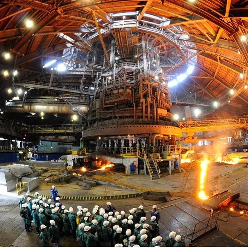 Новолипецкий металлургический комбинат — главное градообразующее предприятие Липецка