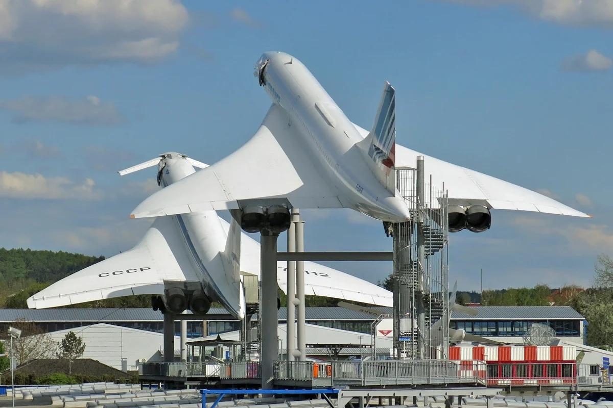 Ту-144 и Конкорд