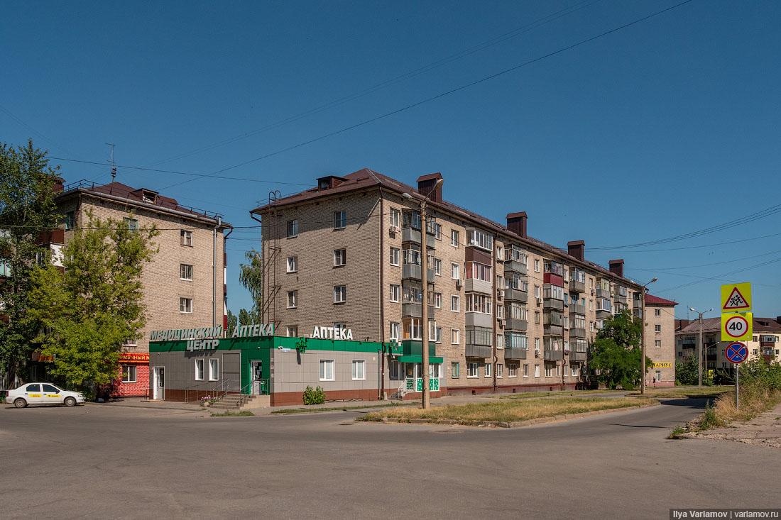 Район ЛТЗ. Липецк