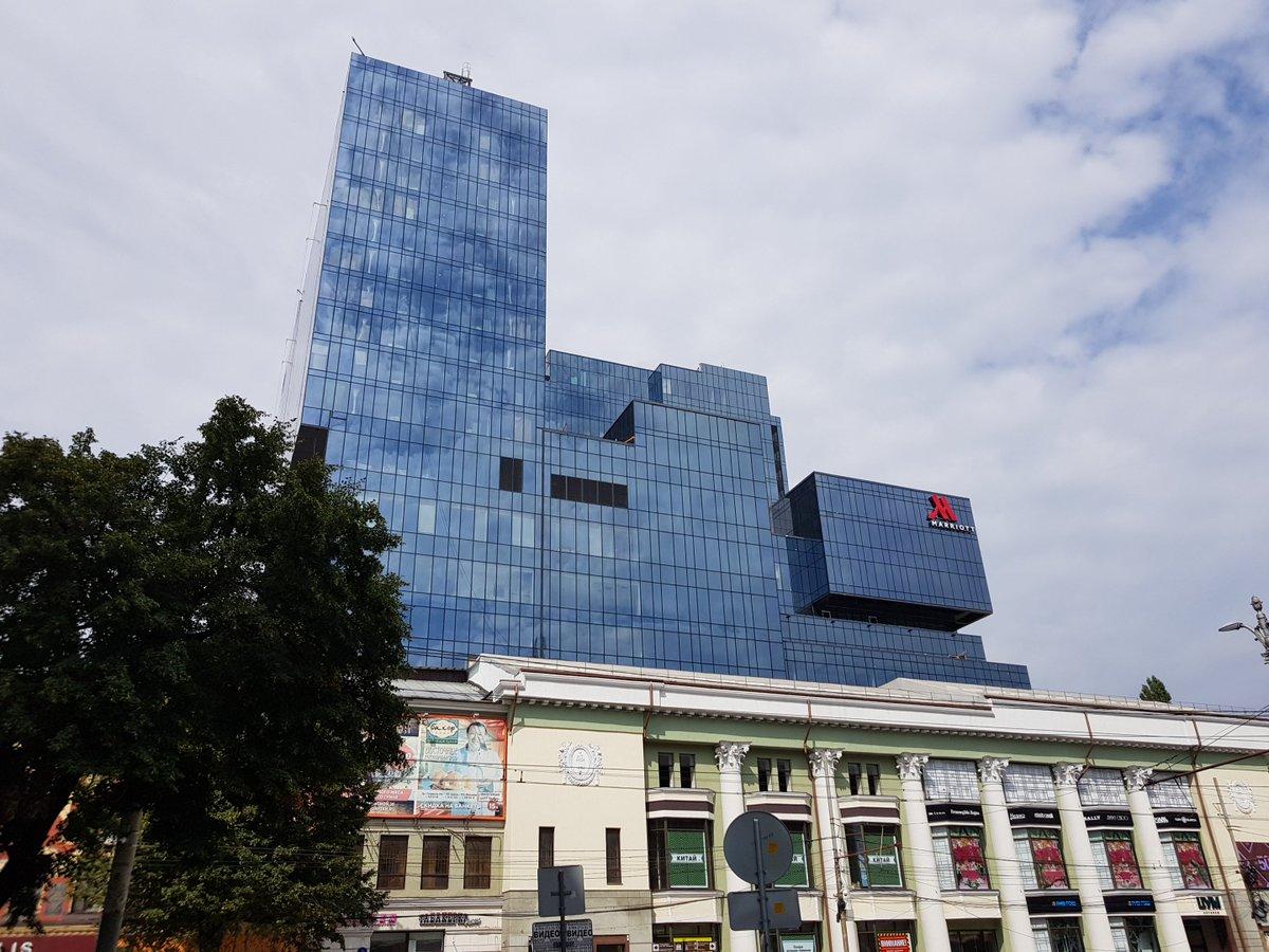 Отель Мариотт в Воронеже