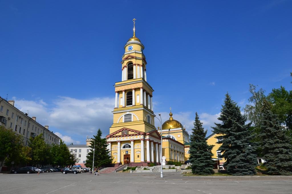 Спасённый Мироном Владимировичем Христорождественский собор в Липецке