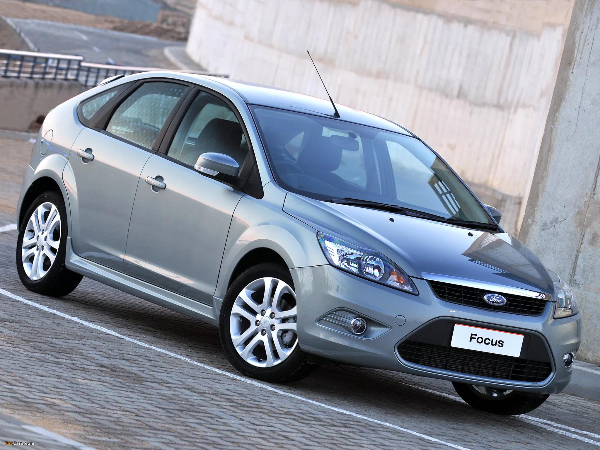 Ford Focus II (рестайлинг) 2009 года