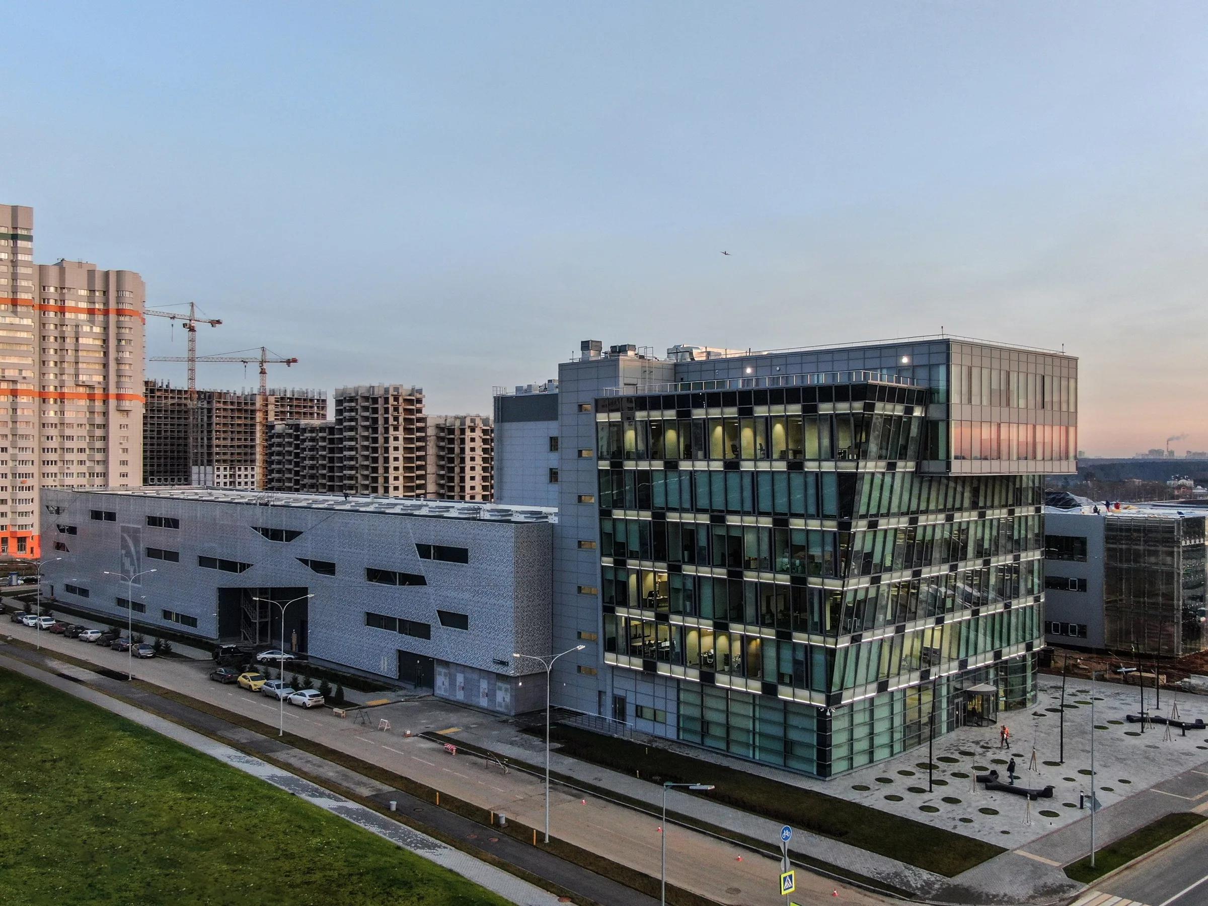 Научно-технический центр в Сколково. Москва