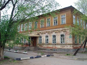 Здание детской художественной школы в г. Ахтубинске