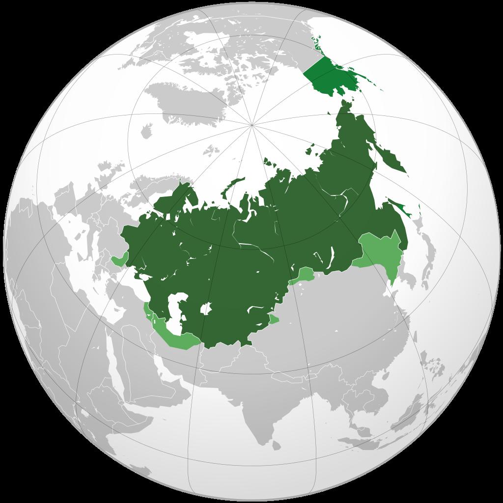 Территория России с учётом всех, входивших в её состав земель