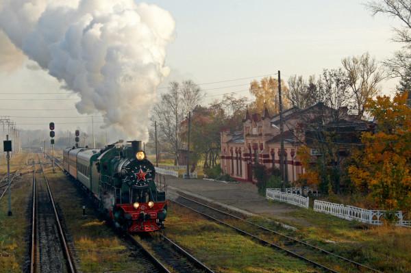 Паровоз - Фото для выставки в Москве, автор - Дмитрий Соболев