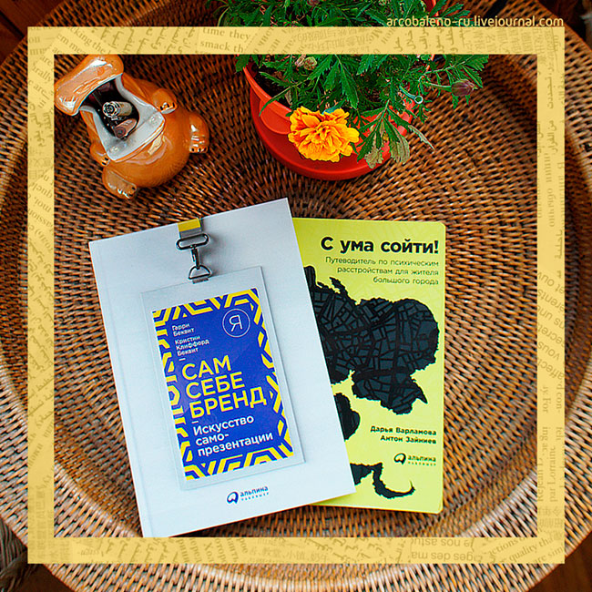 Книжное обозрение: 'С ума сойти!' и 'Сам себе бренд'