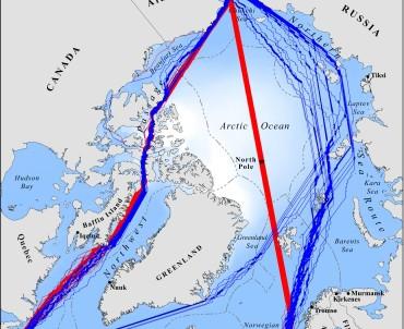 путь из Арктики до Берингова пролива_карта