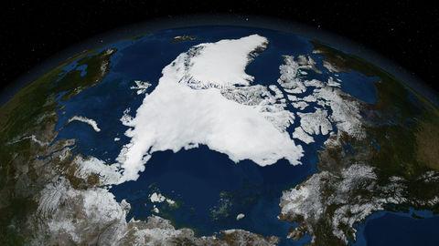 Arctic-satellite-map