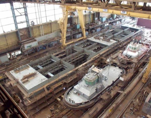 центр атомного судостроения в Северодвинске