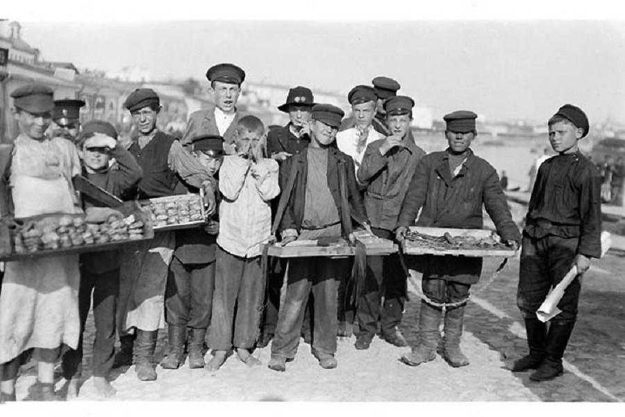 Детский рабский труд в царской России