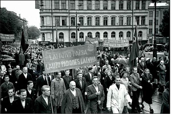 РФ напомнила Латвии о законном вступлении республики в СССР в 1940 г