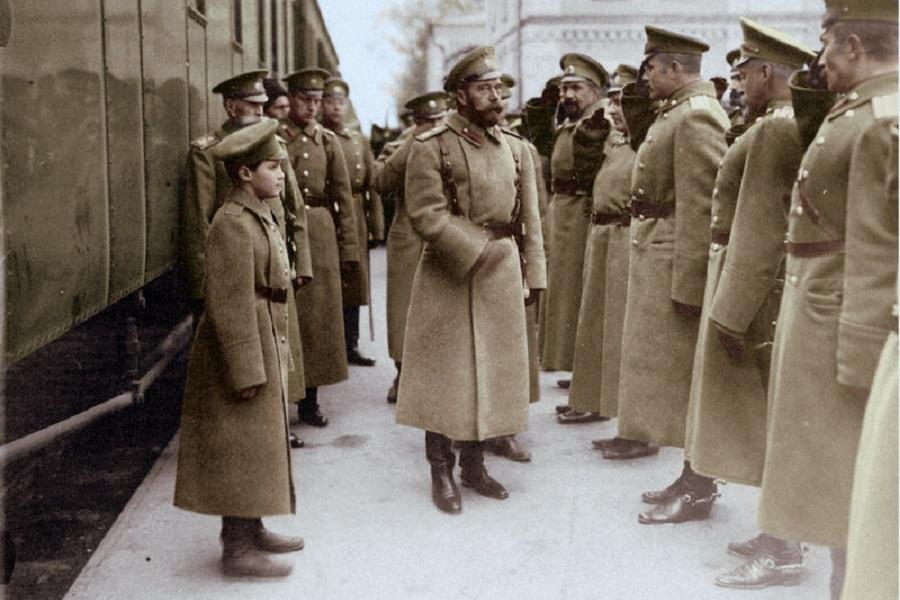 Николай II во время Первой мировой