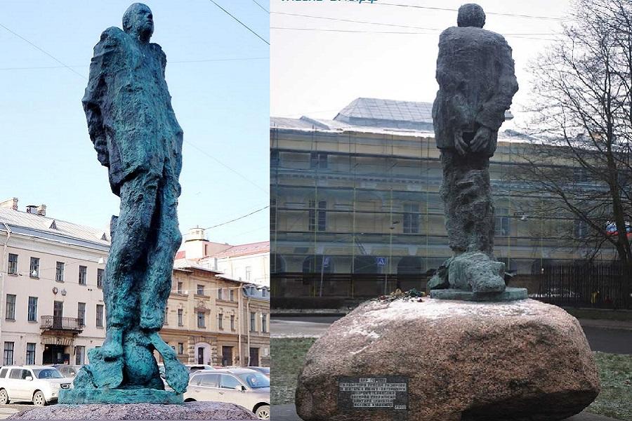 5 мая 2003 г. в СПб открыли памятник академику Сахарову