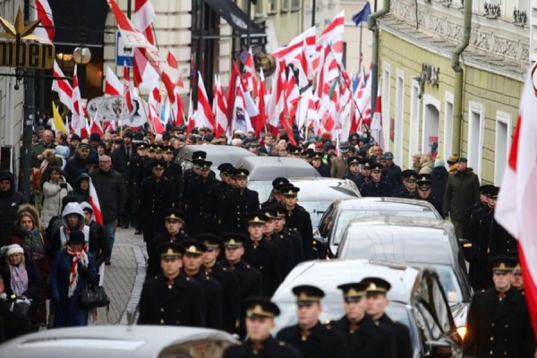 Белорусская делегация чествовала в Литве карателей белорусов