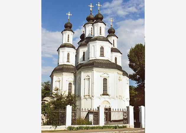 Спасо преображенский собор 1684г изюм