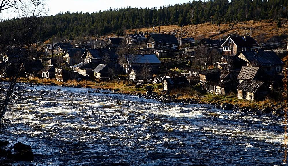 Старая Умба и река Умба