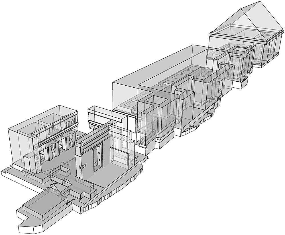 Пума-Пунку, виртуальная модель