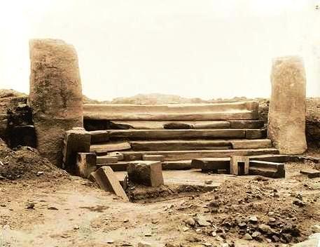 Главный вход Каласайя фото 1903