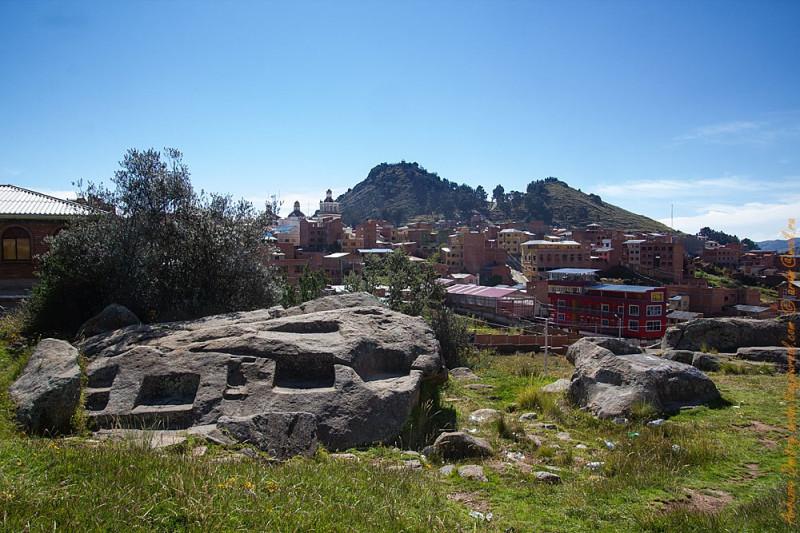 Копакабана - инкское святилище, базилика, Голгофа