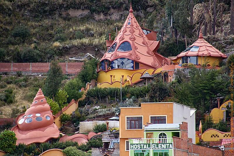 Копакабана. Хостелы на берегу озера