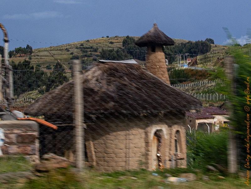 Грибной домик в стиле