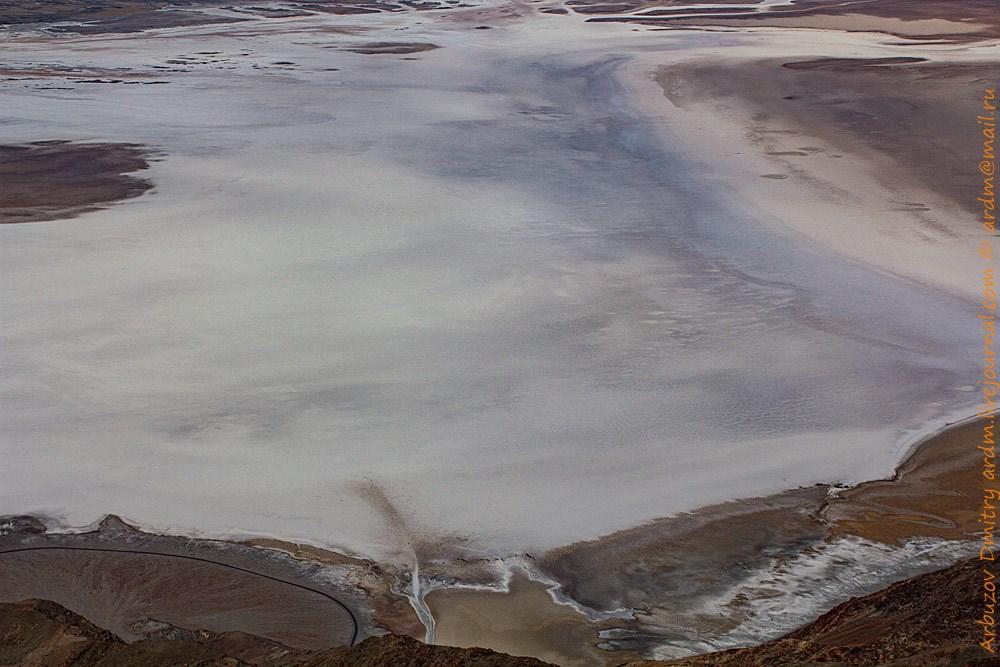 Долина Смерти. Badwater, Dantes view