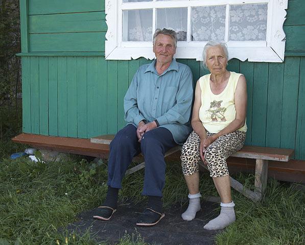 По старым деревням. Иван и Нина Чоботы, 53 года вместе. Вот достойный пример!