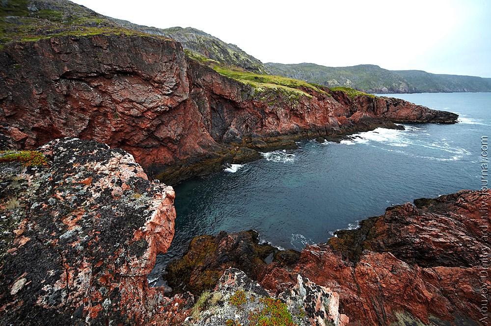 Южные подступы мыса Святой Нос - самое начало Белого моря