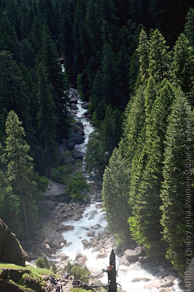 John Muir Trail - начало пути с долины Йосемити