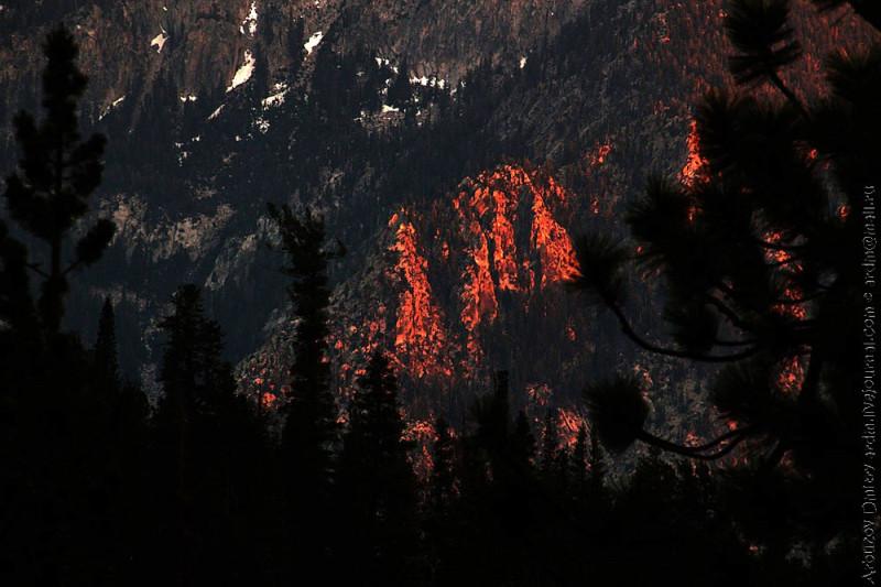 Вид на Cascade valley