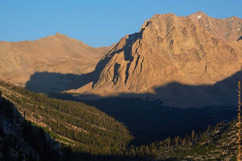 К перевалу Forester