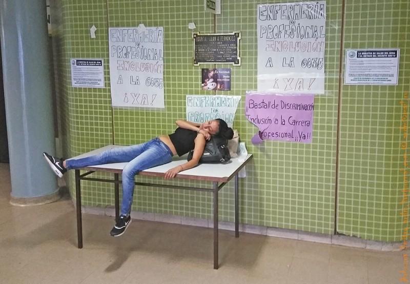 Госпиталь. Пациент в ожидании врача