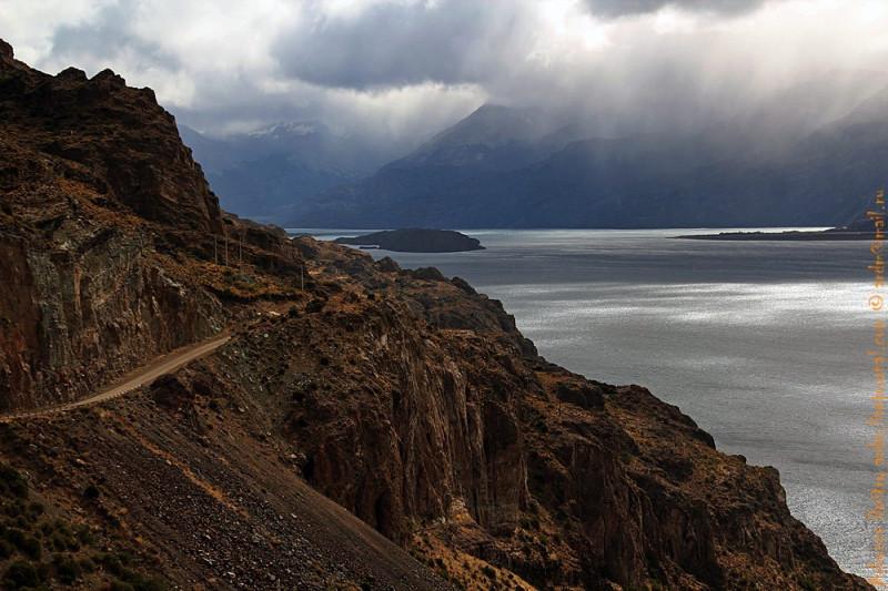 Чили Чико - Карретера Аустраль. Озеро Хенераль Каррера