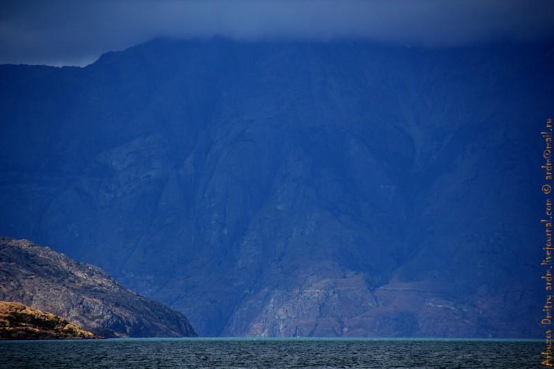 Вид на горы из Рио Транкило