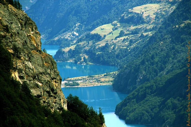 Озера Azul и Paloma