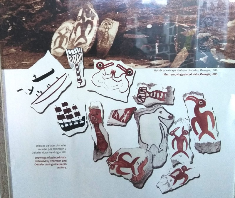 Зарисовки петроглифов 19 век