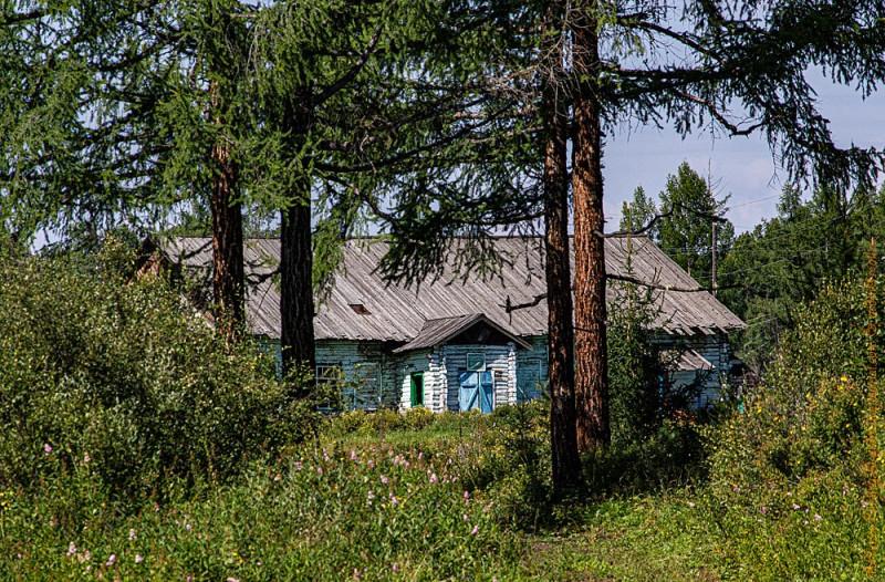 """Реабилитационный центр РЦ """"Поддержка"""" - вторая часть поселка Чезылар. Сюда приезжают со всей Тывы"""