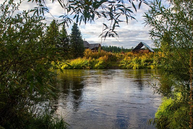 Река Соруг после затяжных дождей