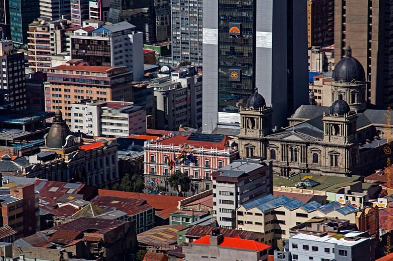 Центральная площадь Мурильо, ратуша