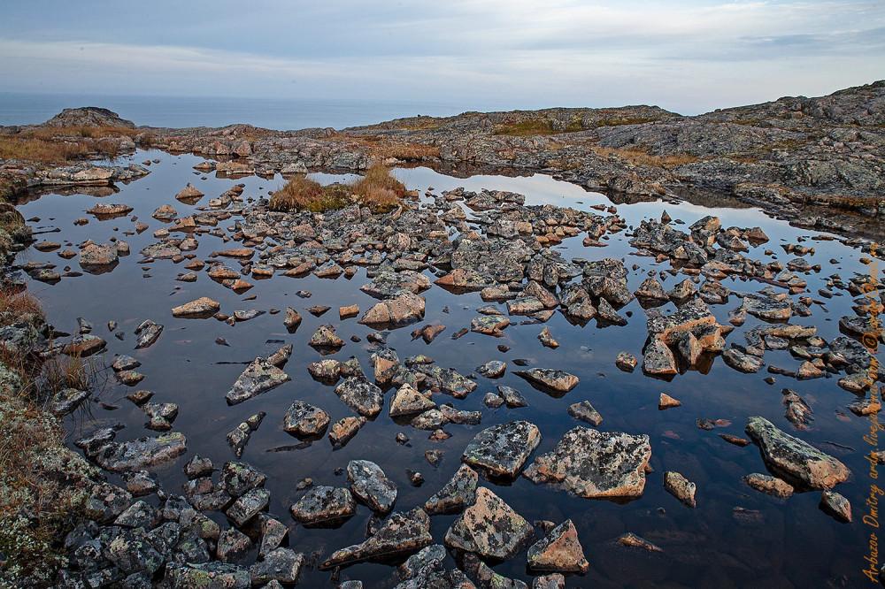 Одна из специфичных черт Балтийского щита вот такие каменистые мелкоозерья