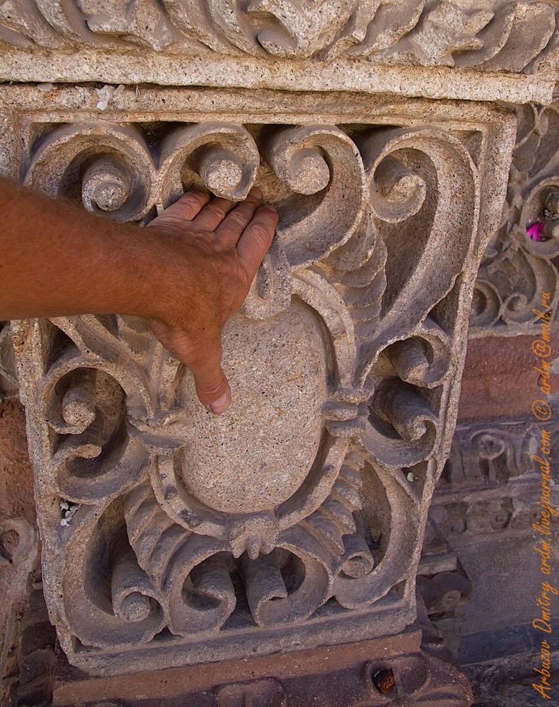 Глубина резьбы iglesia de San Lorenzo de Carangas