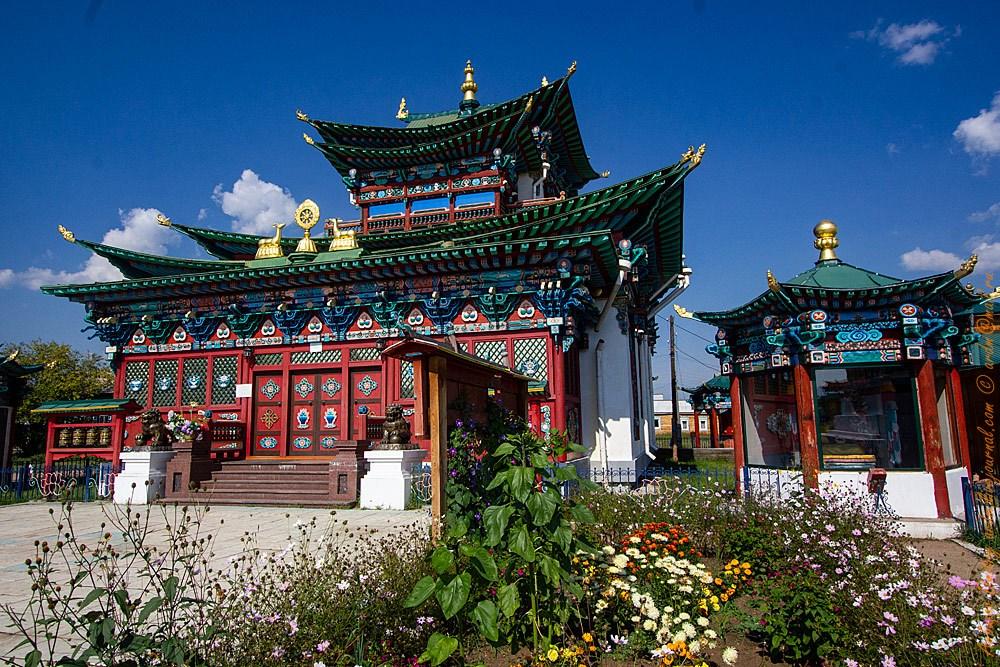 Дворец Хамбо-ламы Итигэлова