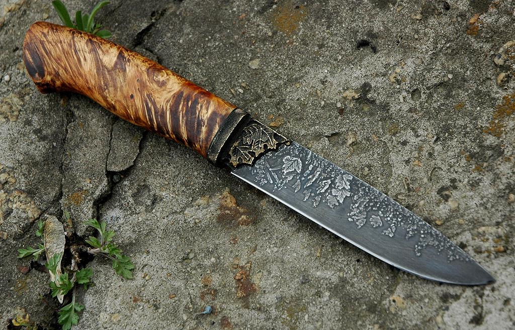Травление Ножа В Горчице