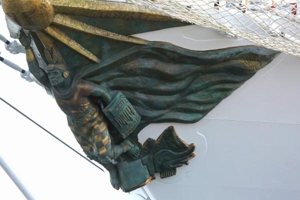"""Afirmado_del_Pabellón_Nacional_del_Buque_a_Escuela_a_Vela_""""Unión""""_(24032770123)"""