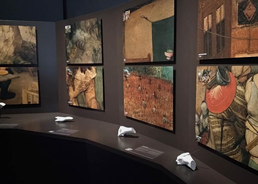 brueghel technique exhibit